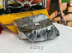 04-20 Harley Sportster Single-Sided Swingarm Bag Black Bar&Shield WithBracket