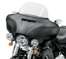 14-18 Harley electra glide flht ultra front outer fairing bar & shield bra