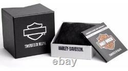 BRAND NEW Bulova Women's Harley-Davidson Bar & Shield Diamonds Watch 78P102