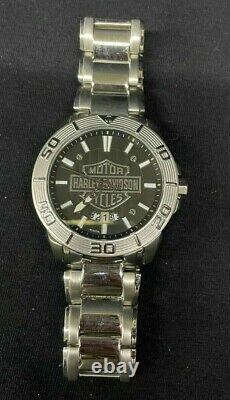 Bulova Harley Davidson Bar and Shield Collection Watch 76B169