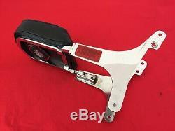 Genuine 1982-1994 Harley Fxr Bar & Shield Backrest Sissy Bar Pad Side Plates