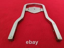 Genuine 82-03 Harley Fxr Bar & Shield Backrest Upright Sportster Dyna Sissy