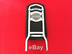 Genuine 82-03 Harley Fxr Bar & Shield Upright Sportster Dyna Backrest Sissy Bar