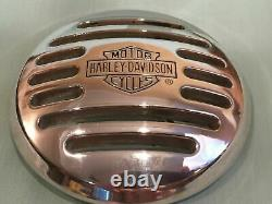 Genuine HARLEY DAVIDSON Men's Classic Bar & Shield SILVER BELT BUCKLE (2008)