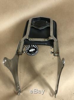 Genuine Harley-Davidson Sportster Sissy Bar & Passenger Pad, Bar & Shield, 79-93