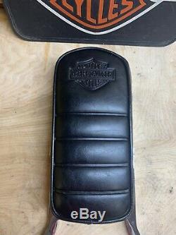 Genuine Harley Fxr Sportster Dyna Tall Bar & Shield Backrest Sissy Bar