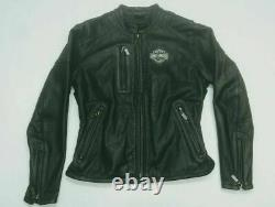 Gorgeous Genuine Harley Davidson Leather Motorcycle Jacket Bar and Shield Small