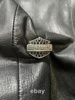 HARLEY DAVIDSON Bar & Shield Ring Black Onyx Thierry Martino SoulFetish Size 10