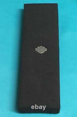 HARLEY DAVIDSON Sterling 925 Crystal, Heart, Bar & Shield, Angel Wing Necklace