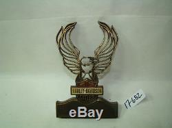Harley Bar & Shield sissy bar insert eagle wings Red White Blue FXR FL EPS17682