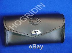 Harley Bar & Shield windshield pouch bag touring softail dyna sportster 58308-95