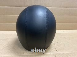 Harley Davidson Bad Boy 3/4 Helmet Leather with Bar& Shield Stitching 98020-95VI