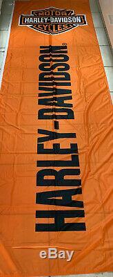 Harley Davidson Bar & Shield B&S Fahne Flagge Flag Breite 100 cm Länge 300 cm