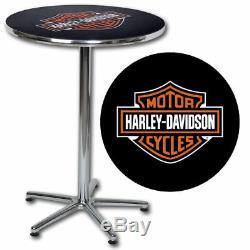 Harley-Davidson Bar & Shield Caf Table HDL-12314 SHIPS FAST