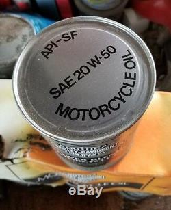 Harley Davidson Bar & Shield Gray PowerBlend Motorcycle Oil Can