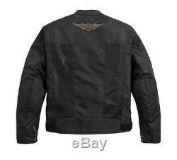 Harley-Davidson Bar & Shield Logo Mesh Riding Jacke Gr. M Herren Sommer