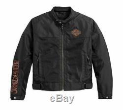 Harley-Davidson Bar & Shield Logo Mesh Riding Jacket