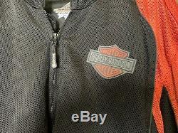 Harley Davidson Bar & Shield Mesh Riding Jacket Men's 5XL