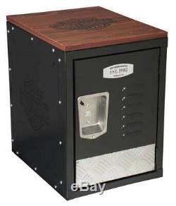 Harley-Davidson Bar & Shield Metal Storage Unit, Durable Laminate Top HDL-19706