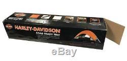 Harley-Davidson Bar & Shield Road Ready Tent, Fiberglass Frame, U-HDL-10011A