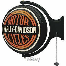 Harley-Davidson Bar & Shield Rotating Wall Bar Light