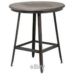 Harley-Davidson Bar & Shield Rustic Wood Caf Pub Table HDL-12329