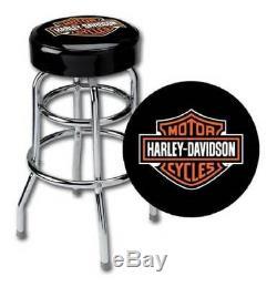 Harley-Davidson Classic Bar & Shield Logo Bar Stool HDL-12116A