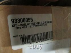 Harley Davidson Diamond Ice Bar & Shield Leather Windshield Bag