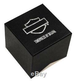Harley-Davidson Men's Bar & Shield Leather Wrist Watch 76A04
