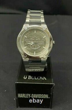 Harley Davidson Men's Bar and Shield Collection Watch by Bulova 76A134