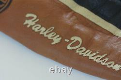 Harley Davidson Men's Prestige Leather USA Made Jacket Bar & Shield 97000-05VM L