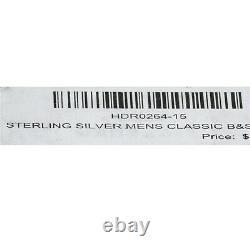 Harley-Davidson Men's Ring Classic Bar & Shield Logo Band Silver SIZE 15 HDR0264