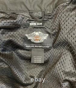 Harley Davidson Mens Bar & Shield Logo Mesh Jacket 98233-13VM. Size XLARGE