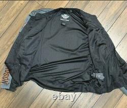 Harley Davidson Mens Bar & Shield Logo Mesh Jacket 98233-13VT 2XLarge BIG & TALL