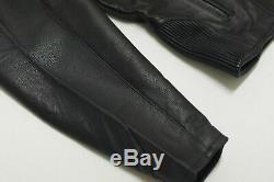 Harley Davidson Mens ROADWAY Black Leather Riding Jacket Bar&Shield L 98015-10VM