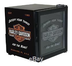 Harley-Davidson Nostalgic Bar & Shield Beverage Chiller, Black HDL-17006