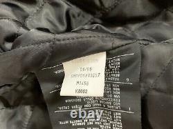 Harley Davidson Nylon Embroidered Bar & Shield Belted Jacket Size Large