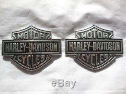 Harley Davidson Tank Embleme Bar & Shield B&S Tankembleme Tankschilder 61400055