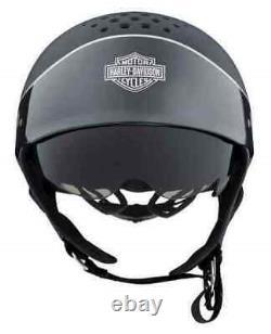 Harley-Davidson Unisex Trenton Bar & Shield Two-Tone B13 Half Helmet, 98105-20V
