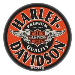 Harley-Davidson Winged Bar & Shield Bar Stool Chrome Plated HDL-12135