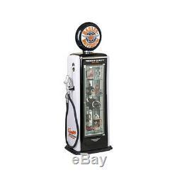 Harley Davidson Winged Bar & Shield Gas Pump Display