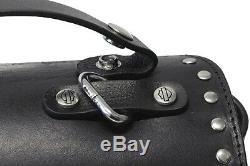 Harley-Davidson Women's Black Winged Bar & Shield Cylinder Handbag HDWBA11469