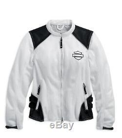 Harley-Davidson Women's Mesh Riding Jacket, Callahan Bar & Shield 98092-15VW