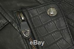 Harley Davidson Womens OLIVIA WOW Studded Bar&Shield Leather Jacket 97036-15VW M