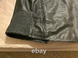 Harley Davidson XL Leather Jacket Bar & Shield LOGO, Condition slightly used