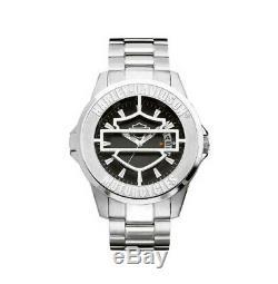 Harley Davidson by Bulova Bar & Shield Pop Out Timepiece #76B143