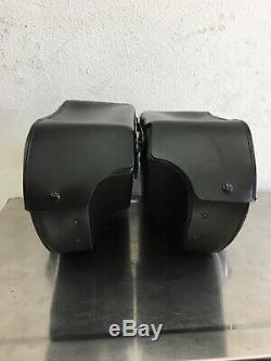 Harley Dyna Bar & Shield Leather Saddlebags 2002-2017 Dyna 90369-06D K714