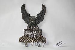 Harley Eagle Bar & Shield sissy bar insert medallion FXR FXLR FXRT FXRP EPS21596
