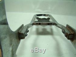 Harley FXLR FXR sissy bar + side plates + Eagle Bar & Shield medallion EPS17525