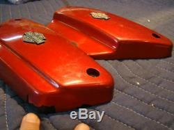 Harley FXR side covers FXRS FXRT FXRP FXLR FXRD Bar & Shield emblem EP11775